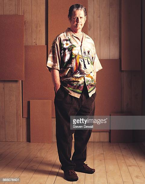 Brian Wilson of the Beach Boys poses for a studio portrait in Los Angeles California United States 9th June 2004