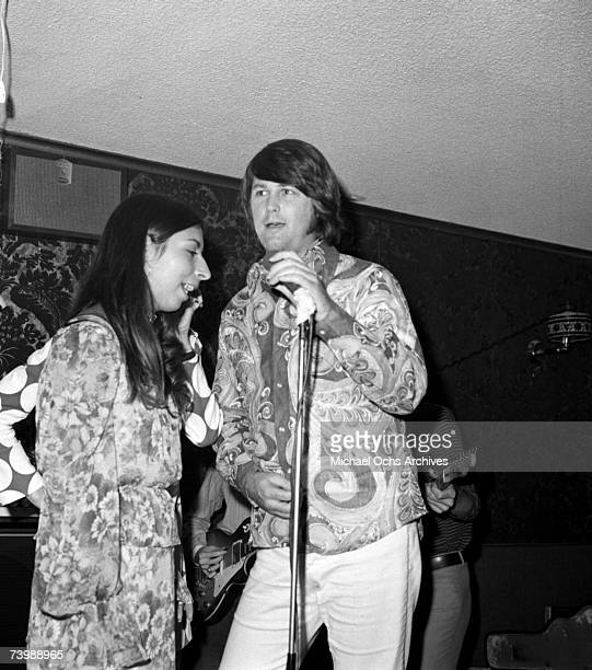 Brian Wilson of the Rock and roll group The Beach Boys and his wife Marilyn Wilson of 'American Spring' support the 'Brother Records' South African...