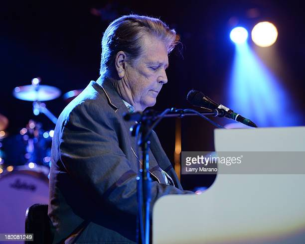Brian Wilson performs at Hard Rock Live in the Seminole Hard Rock Hotel Casino on September 27 2013 in Hollywood Florida