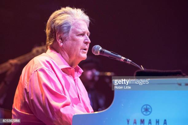 Brian Wilson performs at the Eventim Apollo on August 1, 2017 in London, England.
