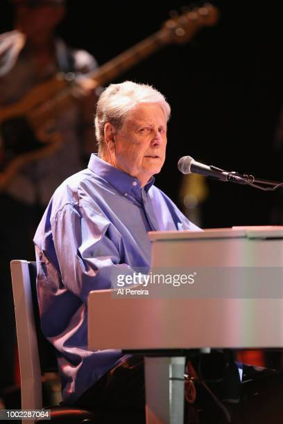General view of the marquee at Brian Wilson Pet Sounds The Final Performances show at Mayo Performing Arts Center on July 19 2018 in Morristown New...
