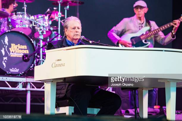 Brian Wilson performs on stage at Victorious Festival at Southsea Seafront on August 25 2018 in Portsmouth England