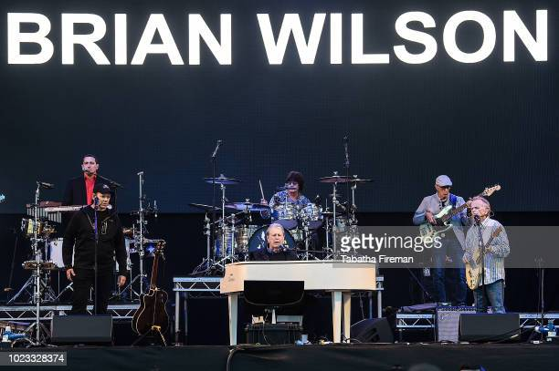 Brian Wilson performs on the Common stage during Victorious Festival at Southsea Seafront on August 25, 2018 in Portsmouth, England.