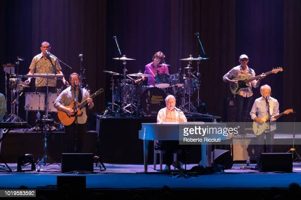 Brian Wilson performs 'Pet Sounds' on stage at Playhouse during Edinburgh Summer Sessions on August 19 2018 in Edinburgh Scotland