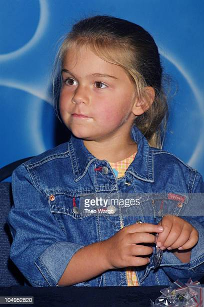 Brian Wilson's daughter Daria during Brian Wilson signs copies of his new CD Live at the Roxy at Tower Records in Lincoln Center New York City in New...