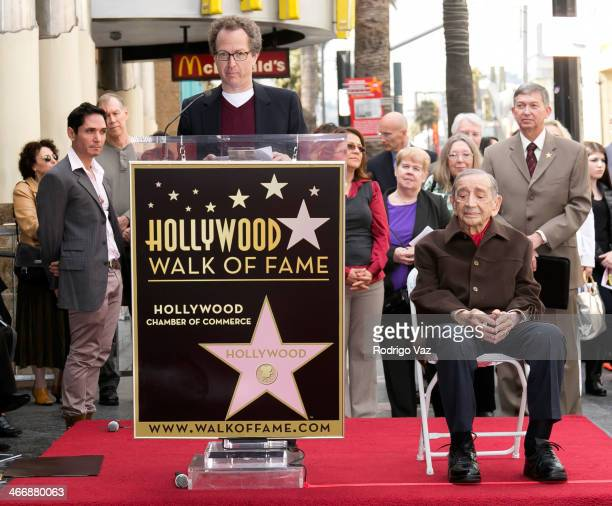 Brian Witten and Jack H Harris attend as producer Jack H Harris is honored with a Star on The Hollywood Walk of Fame on February 4 2014 in Hollywood...