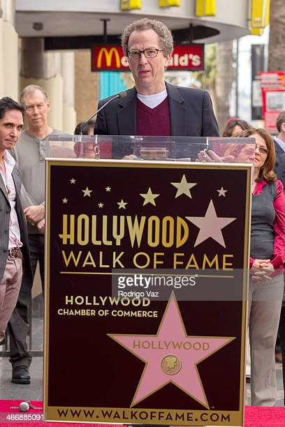 Brian Witten attends as producer Jack H Harris is honored with a Star on The Hollywood Walk of Fame on February 4 2014 in Hollywood California