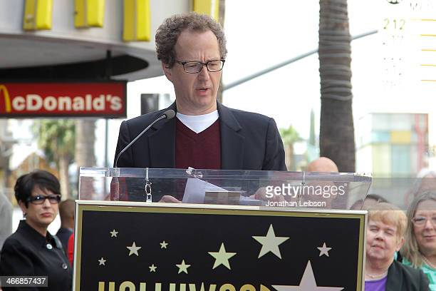 Brian Witten attends Film Producer Jack H Harris being honored with Star On The Hollywood Walk Of Fame on February 4 2014 in Hollywood California