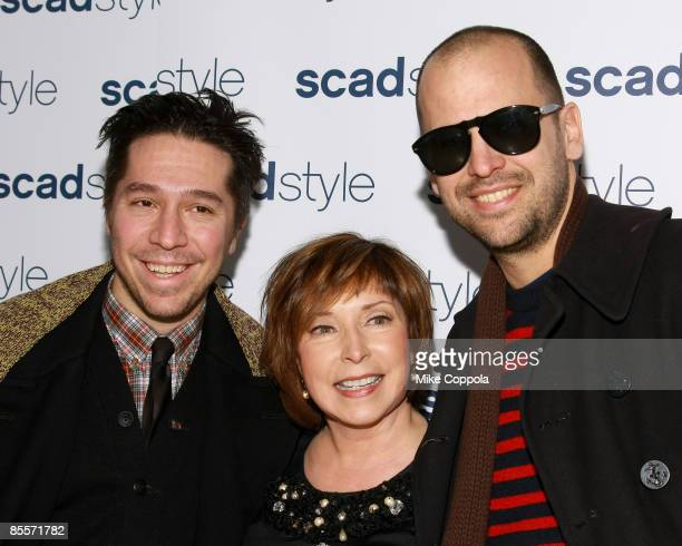 Brian Wold, Paula Wallace and Claude Morais attends the Savannah College of Art and Design's annual Style Etoile Awards Gala at James Cohan Gallery...