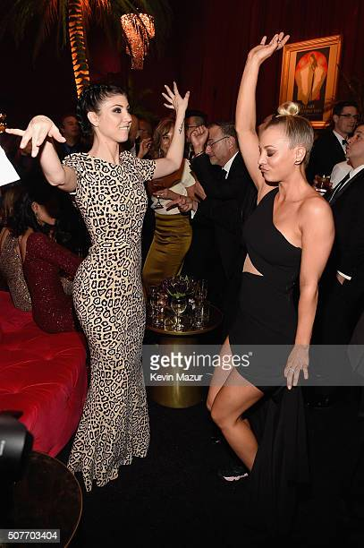 Briana Cuoco and Kaley Cuoco attend People and EIF's Annual Screen Actors Guild Awards Gala at The Shrine Auditorium on January 30 2016 in Los...