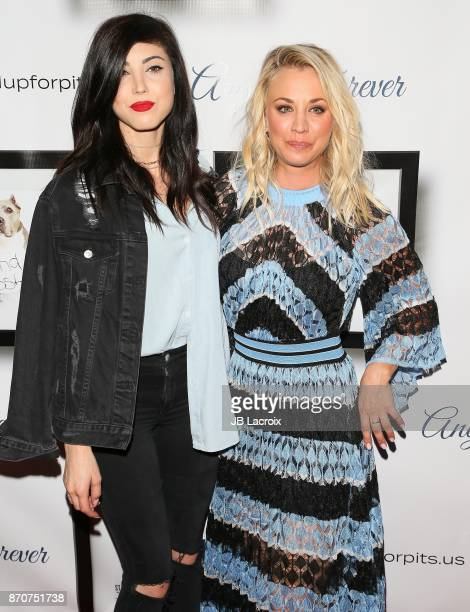Briana Cuoco and Kaley Cuoco attend the 7th Annual Stand Up For Pits on November 5 2017 in Los Angeles California