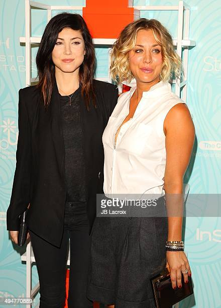 Briana Cuoco and Kaley Cuoco attend the Step Up 11th Annual Inspiration Awards at The Beverly Hilton Hotel on May 30 2014 in Beverly Hills California