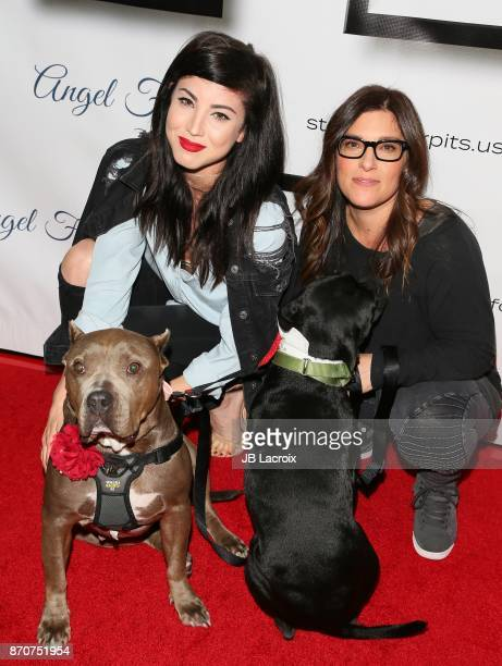 Briana Cuoco and Rebecca Corry attend the 7th Annual Stand Up For Pits on November 5, 2017 in Los Angeles, California.