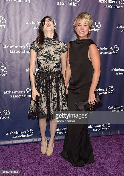 Briana Cuoco and sister actress Kaley Cuoco attend the 23rd Annual A Night At Sardi's To Benefit The Alzheimer's Association at The Beverly Hilton...