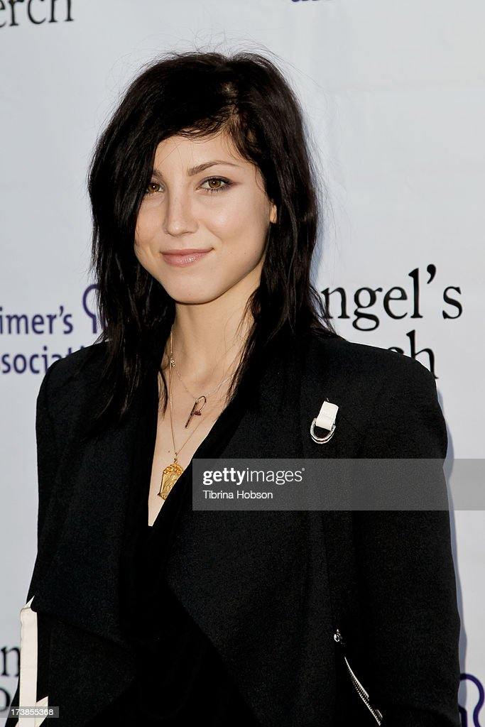 Briana Cuoco attends the Alzheimer's Association and Scrappy Cat Productions premiere of 'Angel's Perch' at Laemmles Royal Theatre on July 17, 2013 in Los Angeles, California.