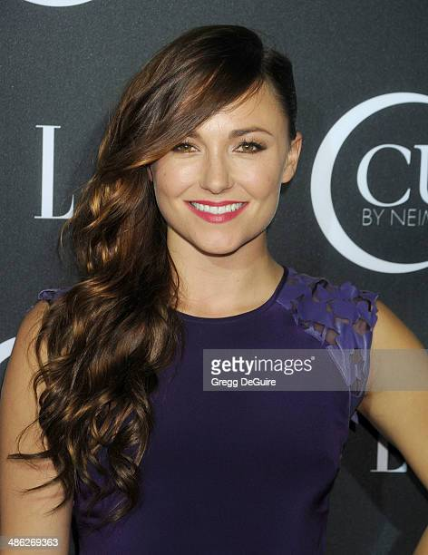Briana Evigan arrives at ELLE's 5th Annual Women In Music concert celebration at Avalon on April 22 2014 in Hollywood California