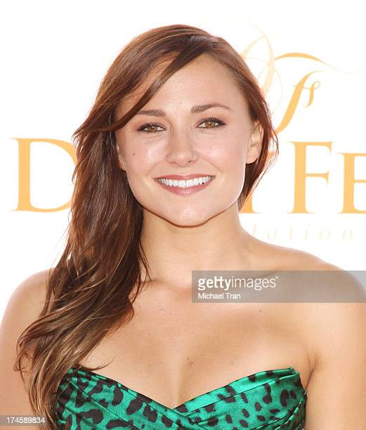 Briana Evigan arrives at the Dizzy Feet Foundation's 3rd Annual Celebration of Dance Gala held at Dorothy Chandler Pavilion on July 27 2013 in Los...