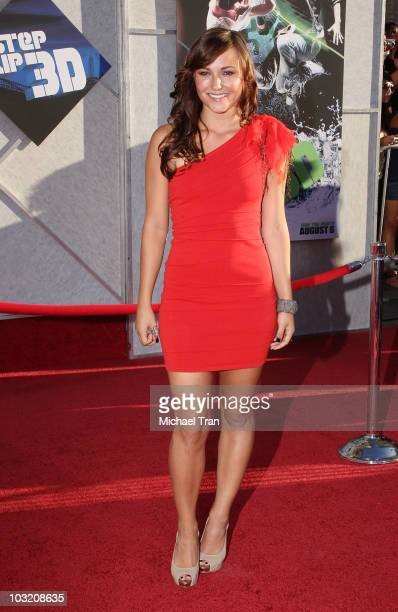 """Briana Evigan arrives to the Los Angeles premiere of """"Step Up 3D"""" held at the El Capitan Theatre on August 2, 2010 in Hollywood, California."""