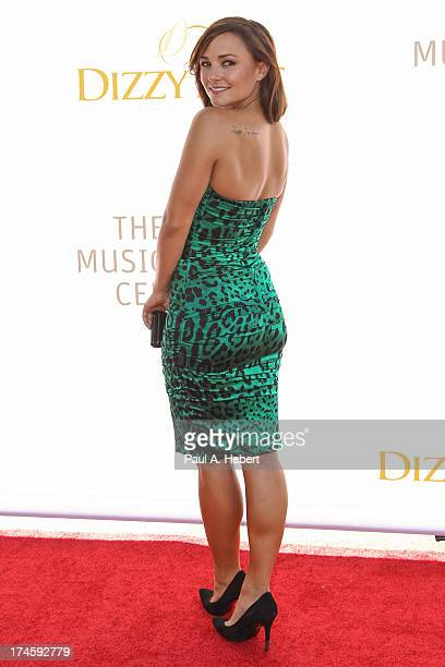 Briana Evigan attends the 3rd Annual Dizzy Feet Foundation's Celebration Of Dance Gala at Dorothy Chandler Pavilion on July 27 2013 in Los Angeles...