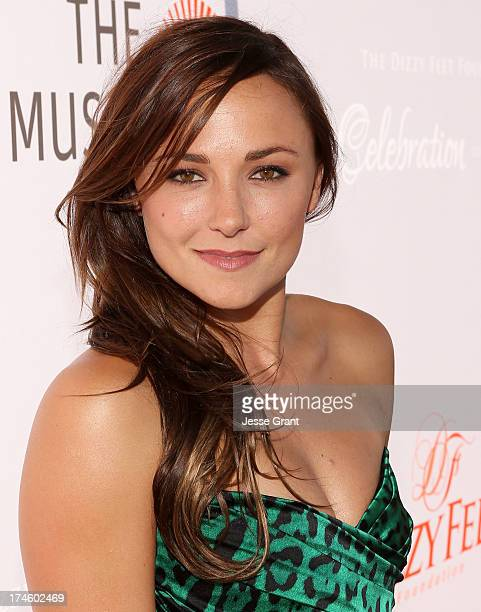Briana Evigan attends the Dizzy Feet Foundation Third Celebration of Dance Gala at The Music Center on July 27 2013 in Los Angeles California