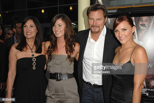 Briana Evigan Mom Pamela Serpe sister Vanessa Lee Evigan and and father Greg Evigan arrives at the Los Angeles premiere of Sorority Row at the...