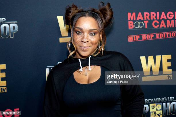 Briana Latrise attends the exclusive premiere for 'WE TV hosts Hip Hop Thursday's at Nightingale on January 09 2019 in West Hollywood California