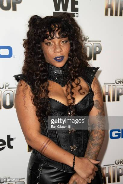 Briana Latrise attends the Premiere Of WEtv's Growing Up Hip Hop Season 4 on May 22 2018 in West Hollywood California
