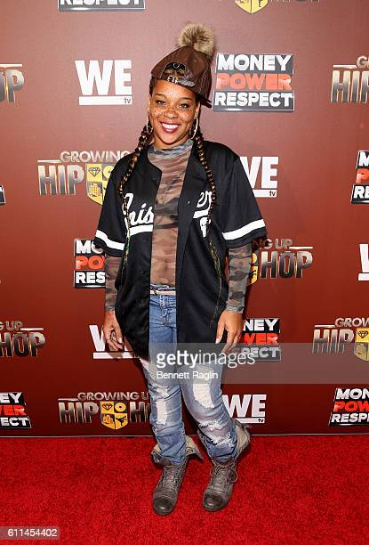 Briana Latrise attends WE tv's Growing Up Hip Hop Season 2 Premiere Screening And After Party on September 29 2016 in New York City