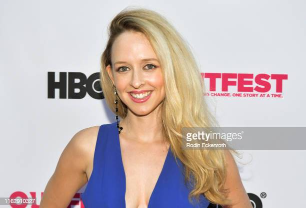 Briana Oppenheimer attends the Outfest Los Angeles LGBTQ Film Festival Opening Night Gala premiere of Circus Of Books at Orpheum Theatre on July 18...