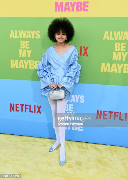 Briana Roy arrives at the premiere of Netflix's Always Be My Maybe at the Regency Village Theatre on May 22 2019 in Westwood California