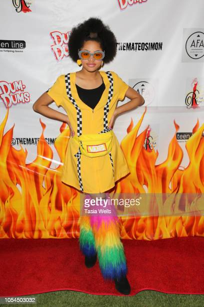 Briana Roy attends Mateo Simon's Annual Charity Halloween Event on October 27 2018 in Burbank California