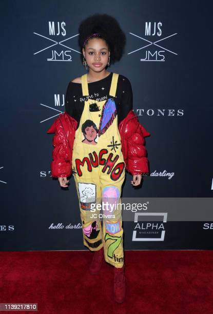 Briana Roy attends Matt Sarafa and Jonathan Marc Stein's new 'Rich' clothing line release and fashion show on March 29 2019 in Los Angeles California