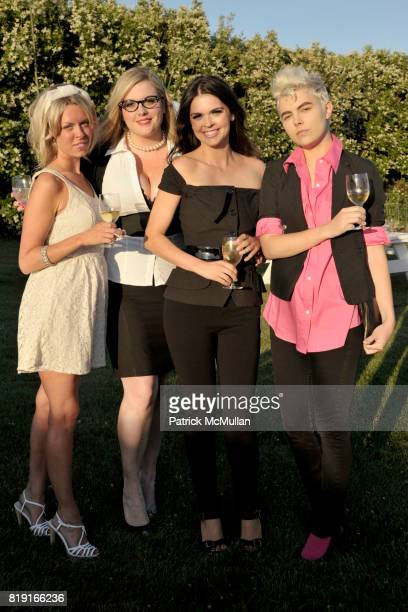 Briana Stanley Ann Thornton Katie Lee and Stacey Nicola attend THE CINEMA SOCIETY DIOR BEAUTY host a screening of GREASE SingALong at Katie Lee's...