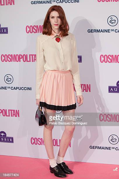 Brianda Fitz James Stuart attends Cosmopolitan Fun Fearless Awards 2012 at Ritz Hotel on October 22 2012 in Madrid Spain
