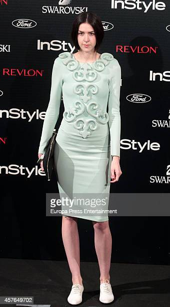Brianda Fitz James Stuart attends the InStyle Magazine 10th anniversary party on October 21 2014 in Madrid Spain