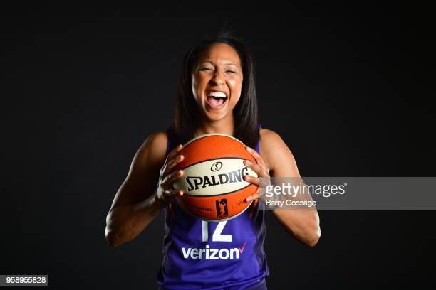 Briann January of the Phoenix Mercury poses for a portrait at Media Day on May 14 at Talking Stick Resort Arena in Phoenix Arizona NOTE TO USER User...