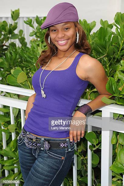 Brianna attends MackAPoolooza at Gansevoort South on July 2 2010 in Miami Beach Florida