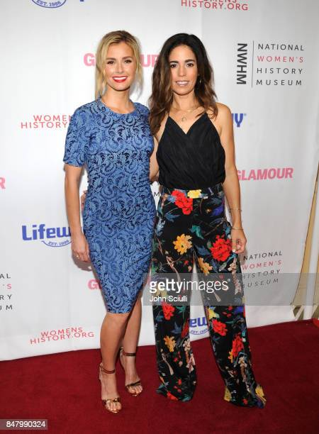 Brianna Brown and Ana Ortiz at the Women Making History Awards at The Beverly Hilton Hotel on September 16 2017 in Beverly Hills California