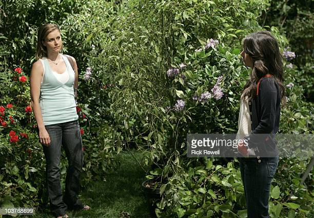 HOSPITAL Brianna Brown and Kimberly McCullough in a scene that airs the week of September 6 2010 on ABC Daytime's 'General Hospital' 'General...