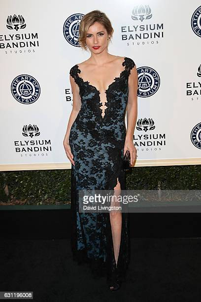 Brianna Brown arrives at The Art of Elysium presents Stevie Wonder's HEAVEN celebrating the 10th Anniversary at Red Studios on January 7 2017 in Los...