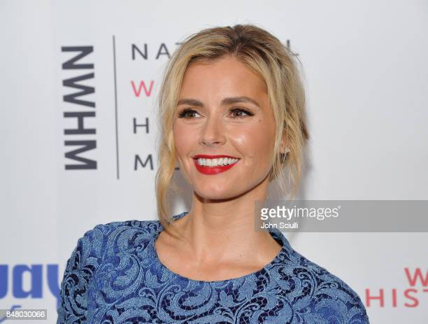 Brianna Brown at the Women Making History Awards at The Beverly Hilton Hotel on September 16 2017 in Beverly Hills California