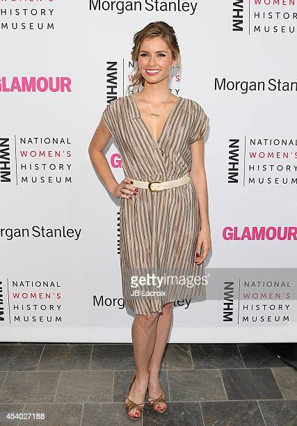 Brianna Brown attends the 3rd Annual Women Making History Brunch presented by the National Women's History Museum and Glamour Magazine at the...