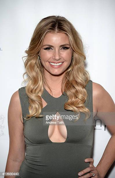 Brianna Brown attends the Broadway Sniffs Out Cancer event at The Public Theater on October 10 2016 in New York City