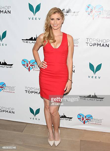 Brianna Brown attends the Success of TNT'S The Last Ship to raise funds for the UKares foundation at Topshop Topman on July 15 2015 in Los Angeles...