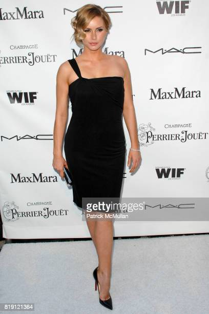 Brianna Brown attends Third Annual Women In Film PreOscar Cocktail Party at Private Residence on March 4 2010 in Los Angeles California