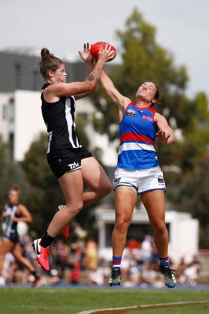 AUS: AFLW Rd 6 - Collingwood v Western Bulldogs