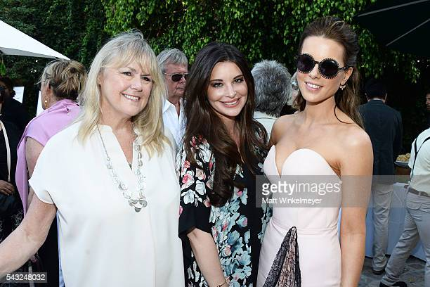 Brianna Deutsch and actress Kate Beckinsale attend the BAFTA LA Garden Party on June 26 2016 in Los Angeles California