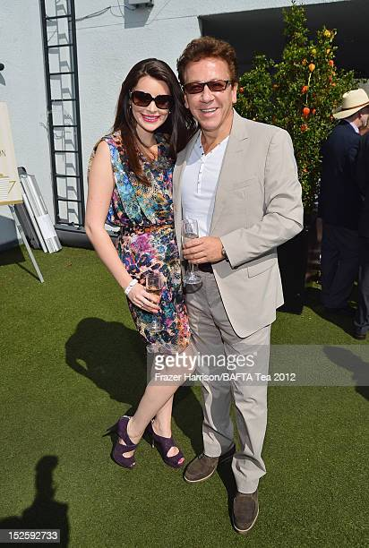 Brianna Deutsch and Ross King attend the BAFTA LA TV Tea 2012 presented by BBC America at The London Hotel on September 22 2012 in West Hollywood...