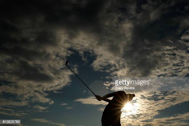 Brianna Do hits her tee shot on the seventh hole during the second round of the Thornberry Creek LPGA Classic at Thornberry Creek at Oneida on July...