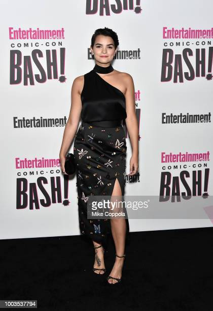 Brianna Hildebrand attends Entertainment Weekly's ComicCon Bash held at FLOAT Hard Rock Hotel San Diego on July 21 2018 in San Diego California...